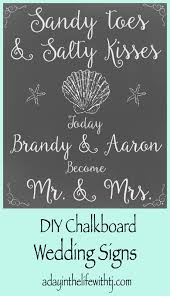 wedding signs diy a day in the with tj diy wedding signs