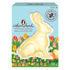 white chocolate bunny bruno solid white chocolate bunny 200 g products secord