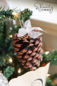 diy pinecone ornaments my tree shanty 2 chic