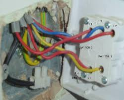 double light switch wiring help with replacing double light switch with a single dimmer