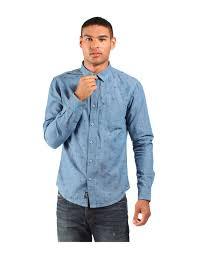 stylish and smart the slim fit malin b chambray long sleeve shirt