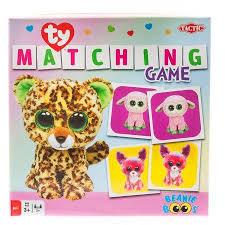 ty beanie boos matching game multicolor beanie boo stuff