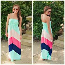 chevron maxi dress dress maxi dress summer chevron mint navy light pink