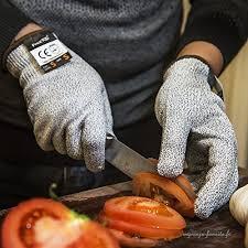 gant anti coupure cuisine gants anti coupure protection de cuisine bricolage résistant souple