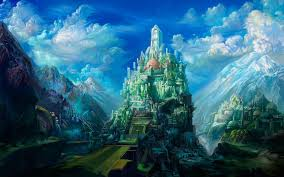 fantasy castle wallpaper mobile with high resolution wallpaper