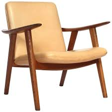 Reading Chair by Oak Reading Chair By Hans J Wegner For Sale At 1stdibs