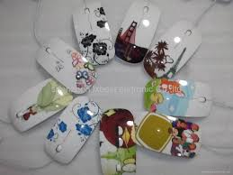 ergonomic design water printing 3d optical wired mouse lx 691