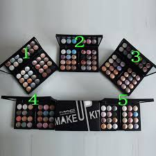 mac cosmetics 24 color eyeshadow with 5 size and makeup kit