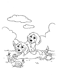 dog puppy coloring page gif