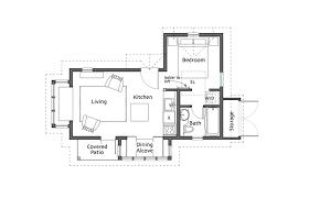 Backyard Apartment Floor Plans Backyard Cottage Ross Chapin Architects