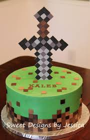minecraft themed cake minecraft cakes pinterest cake