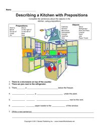 esl kitchen prepositions u2014 instant worksheets