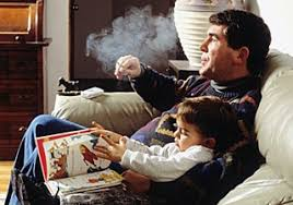 passive smoking kids