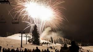winter fireworks squaw alpine