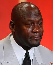 Black Guy Crying Meme - crying michael jordan know your meme