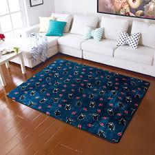 anti slip large rectangular rugs and carpets floor mats baby play