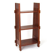 open shelves bookcases mission style furniture bookcase shelves