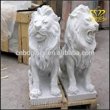 marble lions for sale outdoor large garden carved white marble lion statues for sale
