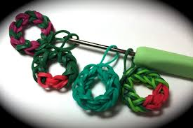 bracelet rubber bands youtube images Rubber band wreath charm without the rainbow loom uses just a jpg