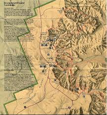 Topographic Map Of Utah by Free Download Utah National Park Maps
