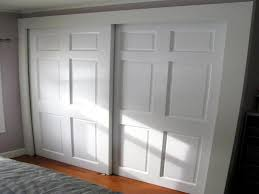 Bypass Closet Door Hardware Bypass Closet Doors For Bedrooms Home Design Ideas