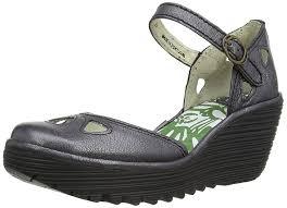 fly london yuna women u0027s wedge sandals amazon co uk shoes u0026 bags
