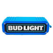 light black u0026 red rugged bluetooth speaker