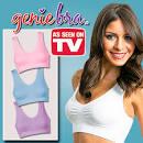 Genie Bra บรากระชับหน้าอกสวมใส่สบายมีฟองน้ำในตัวให้หน้าอกชิดกัน(1 ...