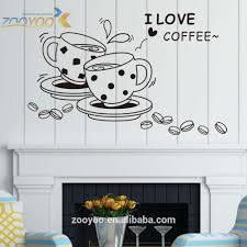 wholesale coffee cup wall decor stickers peel and stick coffee cup wall decor stickers peel and stick decals quotes