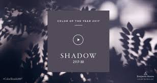 Color Of Year 2017 by My Take Benjamin Moore 2017 Color Of The Year U201cshadow