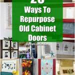 diy kitchen cupboard door ideas 25 diy projects made from cabinet doors it s time to