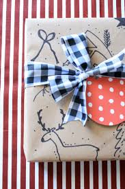 manly wrapping paper custom gift wrap ideas using kraft paper house of jade interiors