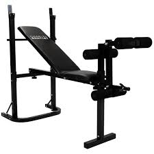 multi purpose training bench barbell and dumbbell weight set