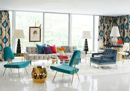 10 rooms with mid century modern glamour