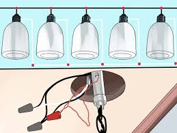 Ceramic Pull Chain Light Fixture by How To Daisy Chain Lights With Pictures Wikihow