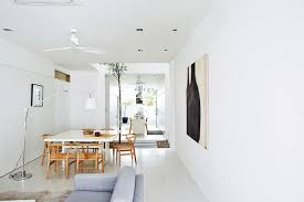 house tour a chic all white home with minimalist details home