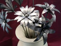 metal flowers 11 best metal flowers images on metal flowers