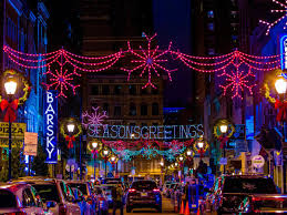 christmas lighting the best lights around philly mapped