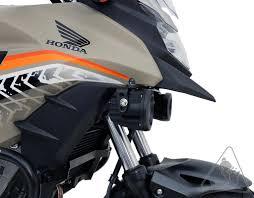 denali auxiliary light mount for honda cb500x u002713 u002715 u0026 cb500x u002716