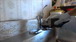 hard to replace kitchen sink faucet youtube