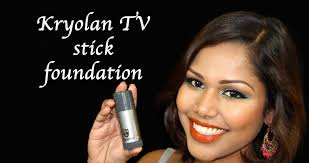 kryolan tv stick foundation application how to heavy makeup not for daily use