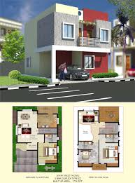 west facing duplex house plans 30x40