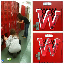 Football Locker Decorations 28 Best Band Locker Decorations Images On Pinterest Football
