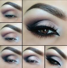 eyes pin image share i am using dark blue and light shade for that look but you are free to 1 new years eve makeup tutorial black