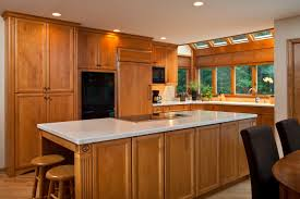 Custom Island Kitchen Kitchen Design Induction Cooktop Island Teakwood Builders