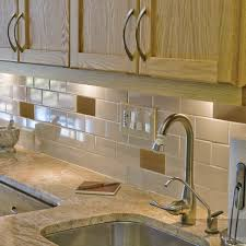decorating bullnose tile backsplash for your kitchen decor ideas oak kitchen cabinets with under cabinet lighting and