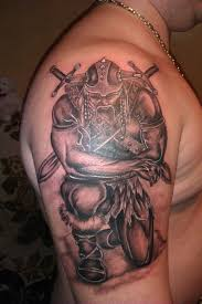 29 wonderful viking tattoos on half sleeve