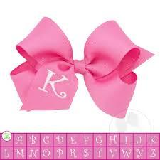 pink hair bow hair bows