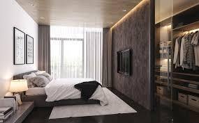 Modern Bedrooms For Men - bedroom bedroom design simple nice for men with brick striking