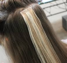 Ombre Hair Extensions Tape In by 100 Human Hair Perfect Hair Tape Hair Extensions Tried It
